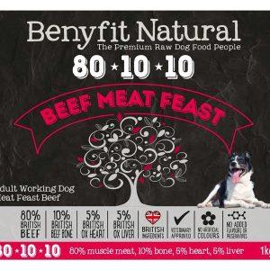 Benyfit 80:10:10 - Beef Meat Feast