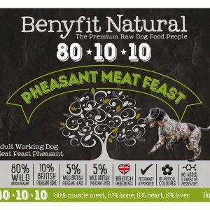 Benyfit 80:10:10 - Pheasant Meat Feast