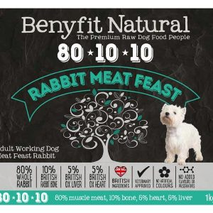 Benefit 80:10:10 - Rabbit Meat Feast