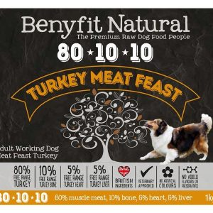 Benyfit 80:10:10 - Turkey Meat Feast