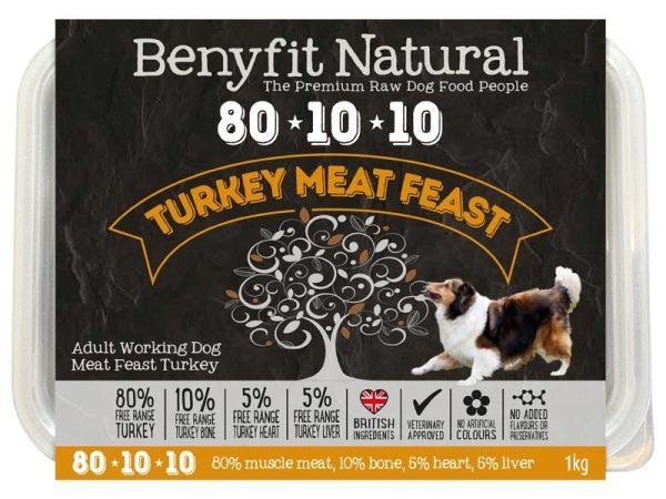 Benyfit 80:10:10 - Turkey Meat Feast