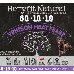 Benefit 80:10:10 - Venison Meat Feast