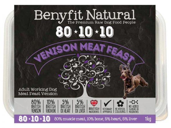 Benefit 80:10:10 - Venison Meat Feast